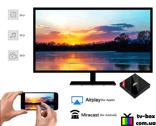 H96 Pro Plus miracast + Airplay